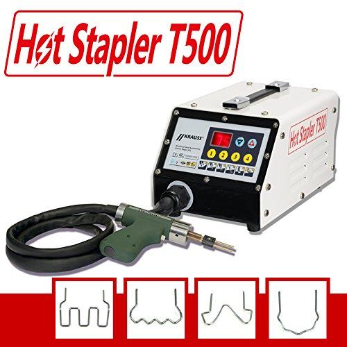 Kunststoff Reparatur System, Kunststoff klammern, reparieren HOT STAPLER T500