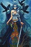 Jane journal - The Morrigan: The Morrigan - blank journal by artist Jane Starr Weils (Volume 1)