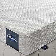 Silentnight 7 Zone Memory Foam Rolled Mattress | Made in the UK | |Medium Firm |Double
