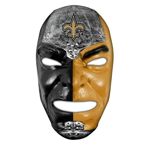 Franklin Sports NFL New Orleans Saints Team Fan Face Mask