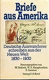 Briefe aus Amerika. Deutsche Auswanderer schreiben aus der Neuen Welt 1830-1930 - Wolfgang J. Helbich