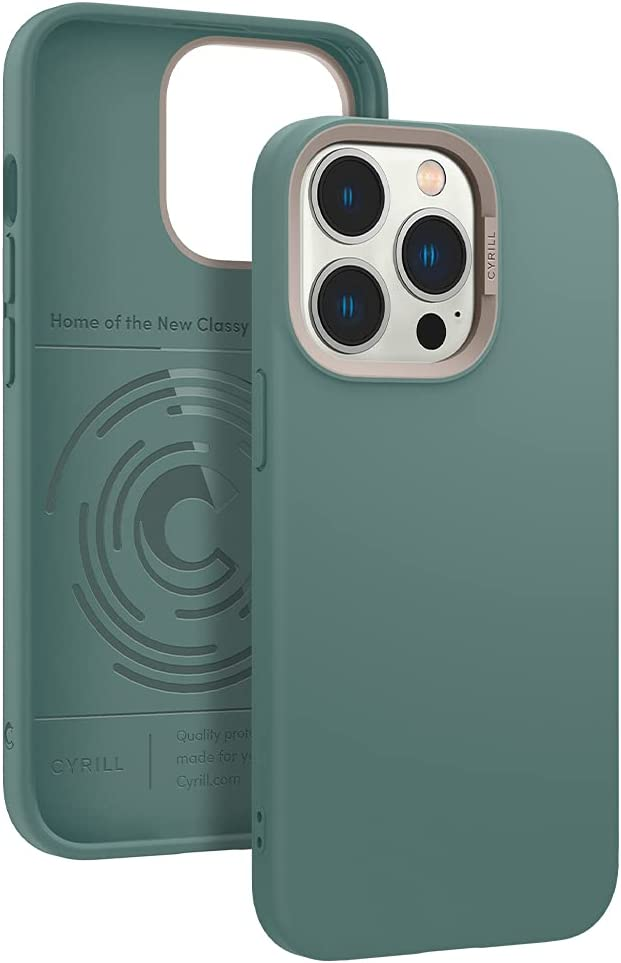 CYRILL Color Brick Designed for iPhone 13 Pro Case (2021) - Kale