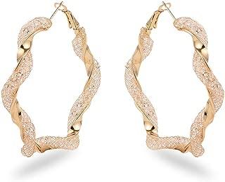 Best twisted hoop earrings silver Reviews