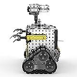 Cocosity Modello di Robot Fai-da-Te, Giocattoli Robot Giocattolo Robot RC, assemblaggio Facile interattivo di apprendimento precoce per Regalo Presente Bambini in età prescolare