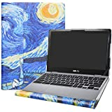 "Alapmk Protective Case Cover for 11.6"" Asus Chromebook C204 C204MA/ASUS Chromebook Flip C214MA Series Laptop(Warning:Not fit ASUS Chromebook C201PA C223NA C202SA),Starry Night"