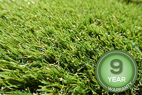 Stadion Kunstrasen Rasenteppich 32mm grün Meterware, verschiedene Größen, 2m 3m 4m 5m,wasserdurchlässig, extreme UV-Beständigkeit (300 x 400 cm)