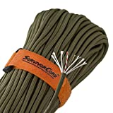 EXCLUSIVE PATENTED PARACORD - Originally designed at the request of Special Forces in Afghanistan, our SurvivorCord is a 620 LB tensile strength paracord that integrates 3 life-saving survival strands into TITAN's trusted WarriorCord 550 Paracord. Av...