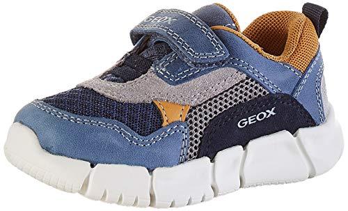 Geox B Flexyper Boy A, Zapatillas para Bebés, Azul (Dk Blue/Navy C4mf4), 23 EU