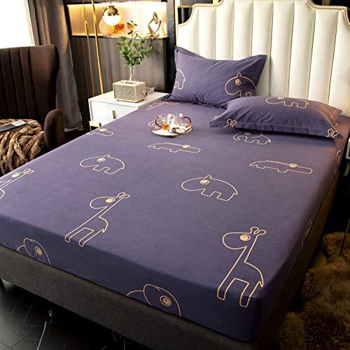 BOLO Se adapta a las sábanas, microfibra, cómodo y a prueba de polvo, 180 x 200 cm+25 cm