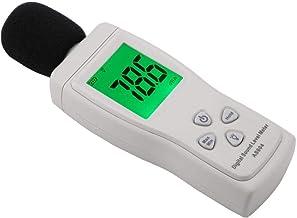 Sugoyi Fonómetro digital con pantalla LCD de bajo consumo y fonómetro, para casa o coche