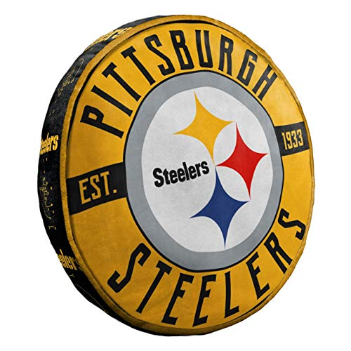 Northwest NFL Pittsburgh Steelers Cloud to Go StylePillow, Team Colors, One Size