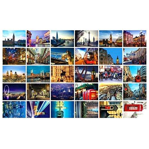 Beautiful Travel Scenery 30 PCS Artistic Retro Postcards-London