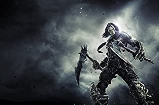 Tomorrow sunny G054 Darksiders 2 Game Poster Art Wall Pictures for Living Room Canvas fabric cloth Print