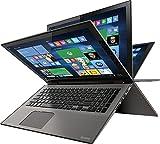 2016 Toshiba Satellite Radius P55W 2-in-1 15.6' 4K Ultra HD Touchscreen Laptop PC, Intel i7-6500U 2.5 GHz, 12GB RAM, 1TB HDD, Backlit Keyboard, Webcam, Bluetooth, WIFI-AC, HDMI, Windows 10