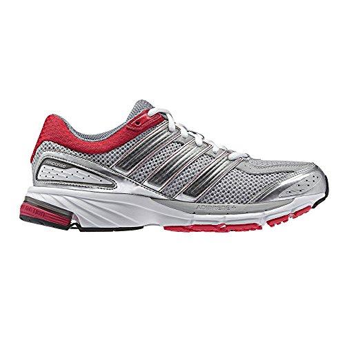 adidas Response Cushion 21 W Q22197 Laufschuhe Silber/Rot/Weiß, Schuhgröße:EUR 35.5