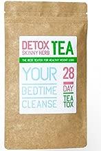 28 Days Bedtime Cleanse Tea : Detox Skinny Herb Tea - Effective Detox Tea, Support Natural Weight Loss Tea, 100% Natural