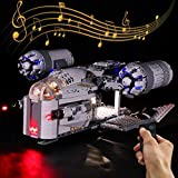 Licht-Set Für (Star Wars Mandalorianer Kopfgeldjäger Razor Crest) Modell - LED Licht-Set...