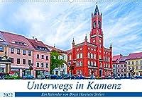 Unterwegs in Kamenz (Wandkalender 2022 DIN A2 quer): Ein fotografischer Stadtspaziergang durch Kamenz. (Monatskalender, 14 Seiten )