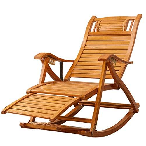 Chaise longue réglable Chaise longue inclinable Chaise longue à bascule extérieure Chaise pliante à bascule pour Patio (Couleur : B)