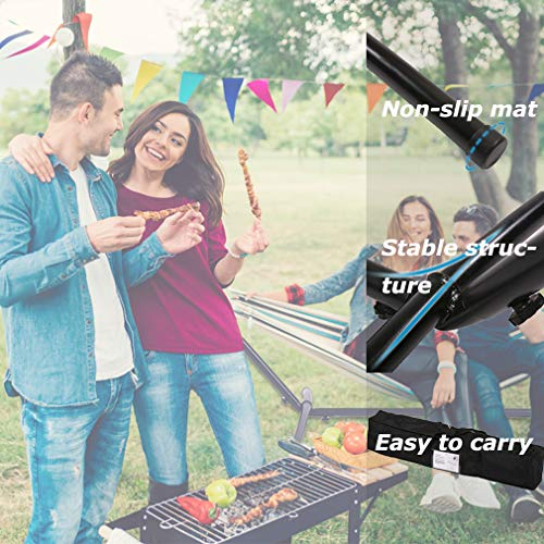 Hammock Stand Portable Heavy Duty Hammock Stand Portable Steel Stand Only for Outdoor Patio or Indoor with Carrying Case