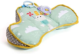 Taf Toys Baby Tummy Time Pillow | Perfect for 2-6 Months Old Babies, Enables Easier Development and Easier Parenting, Natu...