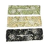 Deft Bun Diadema Horquilla Elegante 3 Colores con motivos...