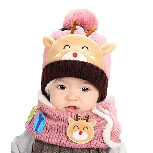 Babybekleidung Hüte & Mützen Longra Baby Jungen-Mädchen gestrickt schönen weichen...