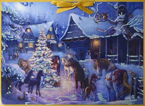 Weihnachten auf dem Pferdehof