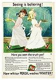 Persil (Candles) Poster Bild Vintage Old Advert Artwork