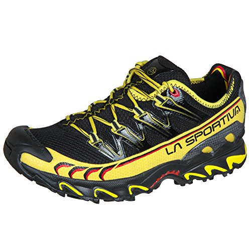LA SPORTIVA Ultra Raptor, Zapatillas de Trail Running Unisex Adulto, Black Signature, 43 EU