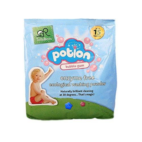 TotsBots - Resuable Nappy Washing Potion - Enzyme Free Ecological Washing Powder, Bubblegum