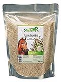 Stiefel Flohsamen 1 kg Tüte für Pferde, gutes für den Darmtrakt beeinflusst positiv die Selbstreinigungsfunktion des Darmes bei fütterungsbedingten Mangelerscheinnungen