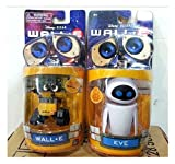 Unbranded Disney Pixar Wall-E and Eee-Vah EVE Set of 2pcs Mini Action Figure New in Box