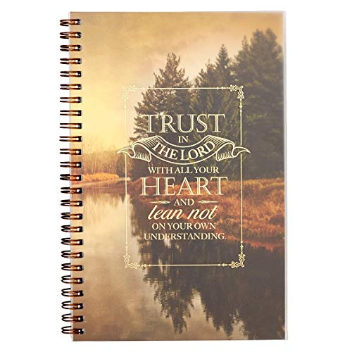 Trust in the Lord Wirebound Notebook  Proverbs 3:5