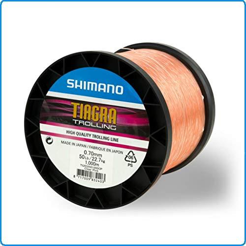 SHIMANO TROLLING CLEAR PINK 80LB 1000MT