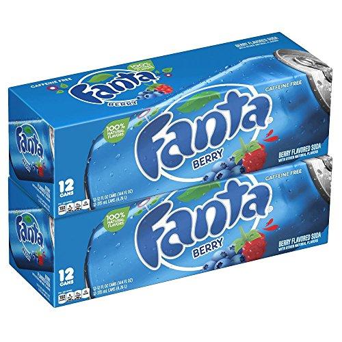 Fanta Berry / Beeren 24 x 355 ml inkl. 6,00 Euro DPG-PFAND