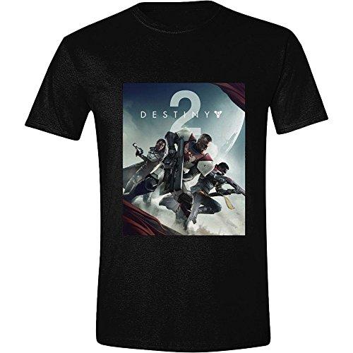 Destiny 2 - Key Art Hommes T-Shirt - Noir, Taille:S