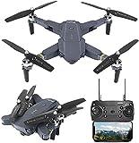 3T6B Drone avec Caméra, Drone avec Passage de Souris Amélioré, Antenne Fixe à 4 Axes, Antenne HD, Rotation à 360 °, Transmission FPV en Temps Réel (HJ-30)