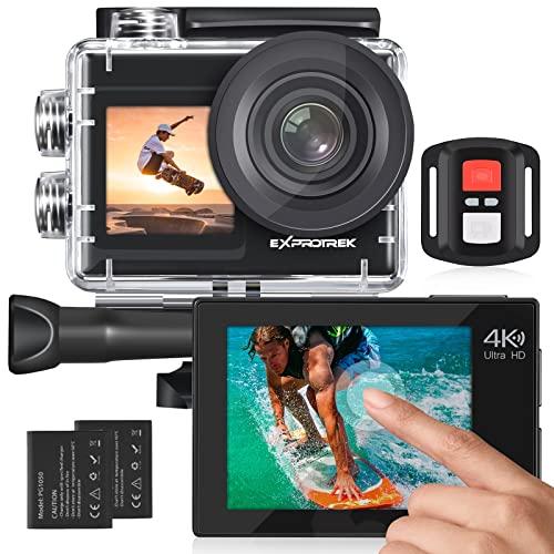 Exprotrek Action Cam 4K...