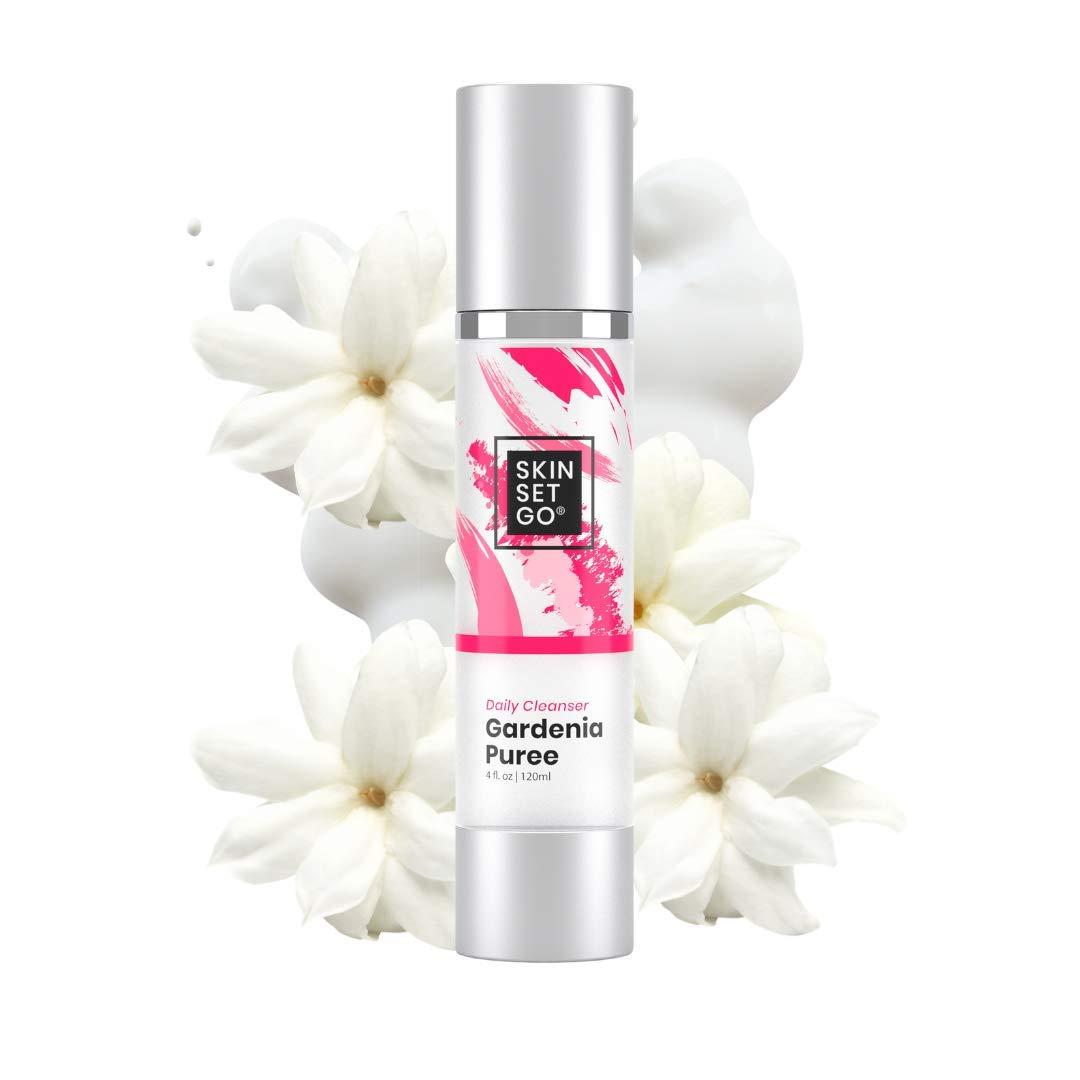 Rapid rise Skin Set Over item handling Go Gardenia Puree Vegan Facial Gentle Face Cleanser