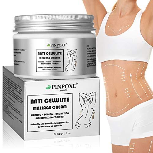 Cellulite Creme, Anti Cellulite, Cellulite massage Creme, Firming Creme, straffende Crème aktiviert die Haut zur Verbesserung der Hautkontur, Fettverbrennungscreme FüR...
