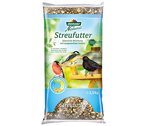 Dehner Natura Wildvogelfutter, Streufutter, (2,5 kg)