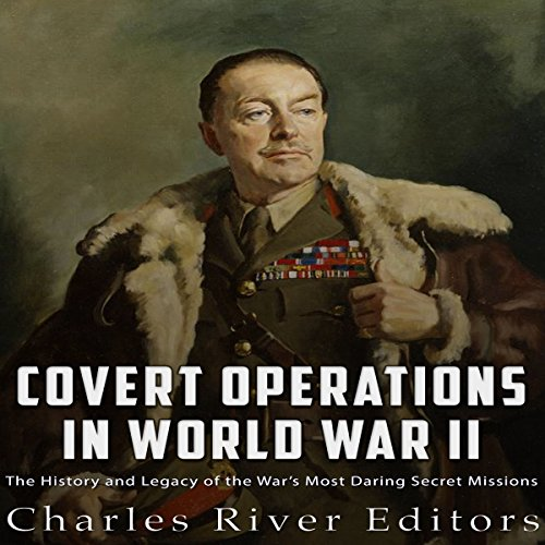 Covert Operations in World War II audiobook cover art