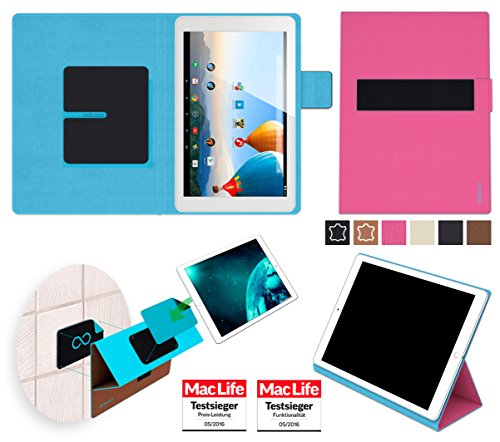 reboon Hülle für Archos 101b Xenon Tasche Cover Case Bumper | in Pink | Testsieger