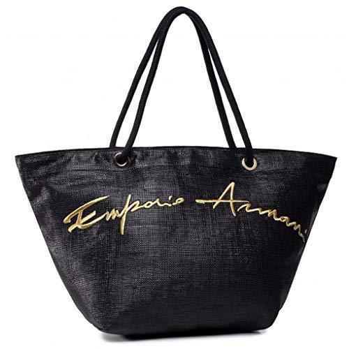 Emporio Armani Logo Signature Shopper Borsa Mare Donna...