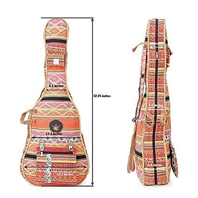 The House Of Tara Handloom Fabric Guitar Case (Multicolor 10) 3