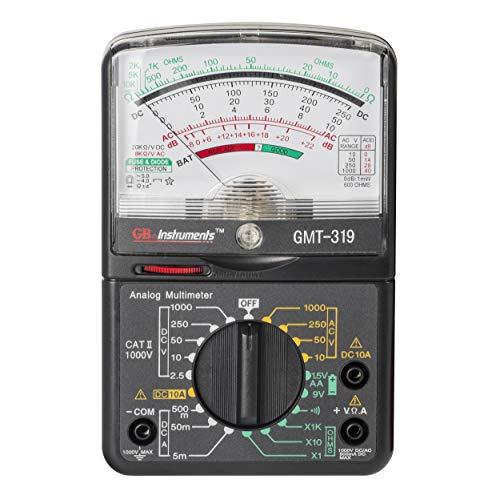 Gardner Bender GMT-319 Multimeter Tester, RJ-45 & RJ-11, 7 Function / 19 Range 1000V
