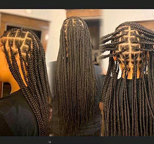 Pre Stretched Braiding Hair 26'-8 Packs Long Itch Free Hot Water...