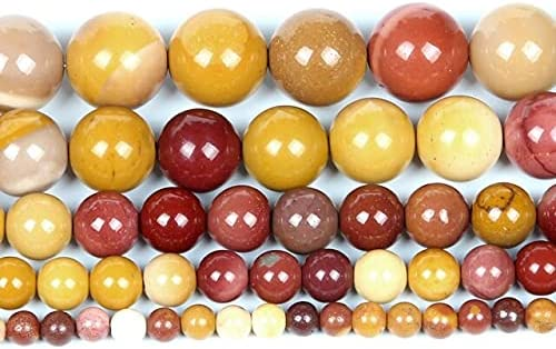 Natural Stone Egg Yolk Some reservation Charm Round for Loose Great interest Beads Jewelry