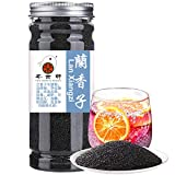 Plant Gift Herbal Tea Tukmaria ( Holy Basil Seeds Tea, Basil Seeds, Tukmaria Seeds / Sabja Basil Seeds) ) pearl fruit basil fruit top slimming detox Slimming beauty health 250g/8.8oz